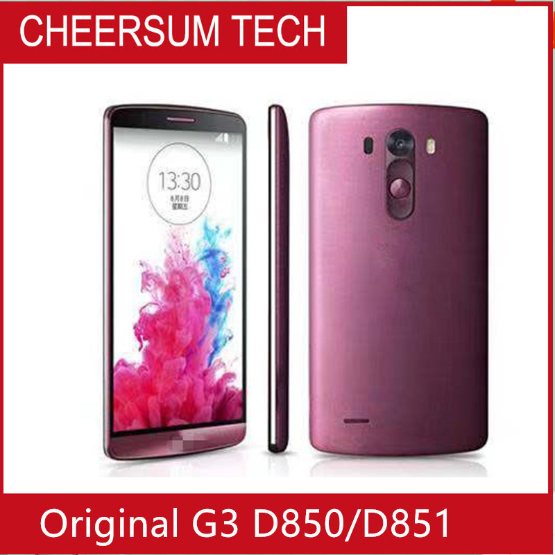 "Original do G3 D850 processadores quad core 5.5"" Micro 13MP 3GB de RAM 32GB RM 3000 mAh Android Market 4.4.2"