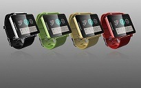 Bluetoothのスマートな腕時計