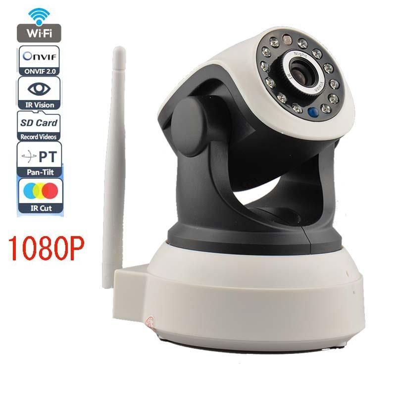 IP-камера WiFi 720p 1.0MP P2p 2 Аудио беспроводная IP камера робота с TF/слот для карты памяти Micro SD бесплатно iPhone Android