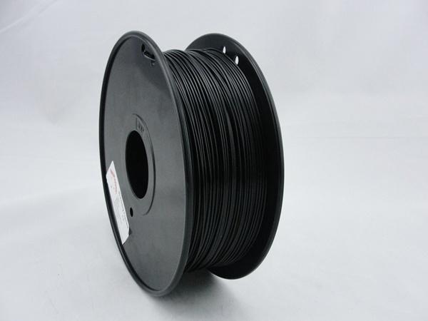 PETG 1,75mm negro de filamentos de impresión 3D