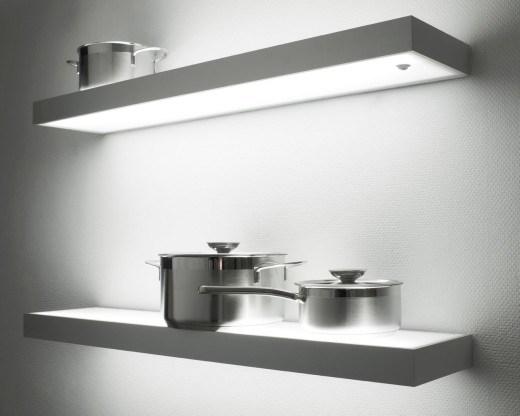 De verlichte Verlichting van de Plank voor Keuken – De verlichte ...