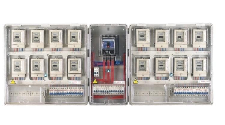 Cuadro de contadores eléctricos - 1
