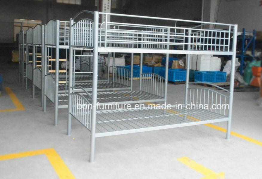 Foto De Metal Camas Cama Litera Con El Paso De Maderametal Litera