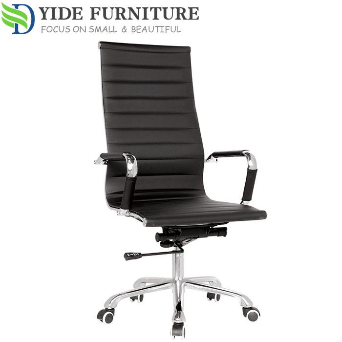 Cadeira de escritório ergonómica Executivo couro Móveis baratos cadeiras