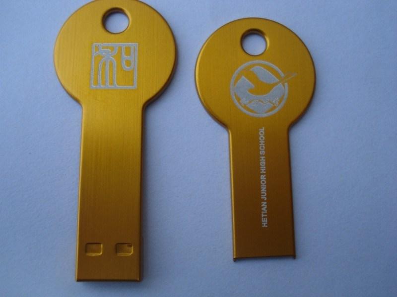 Cadeau publicitaire Key-Shaped lecteur Flash USB