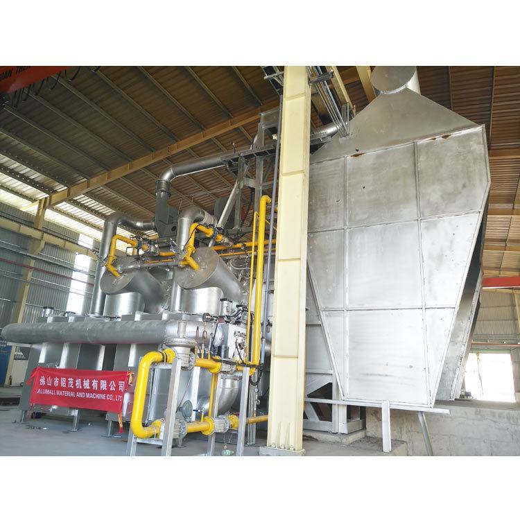 10 metrische Tonnen schmelzender und anhaltener Aluminiumofen mit Emission-Überwachung