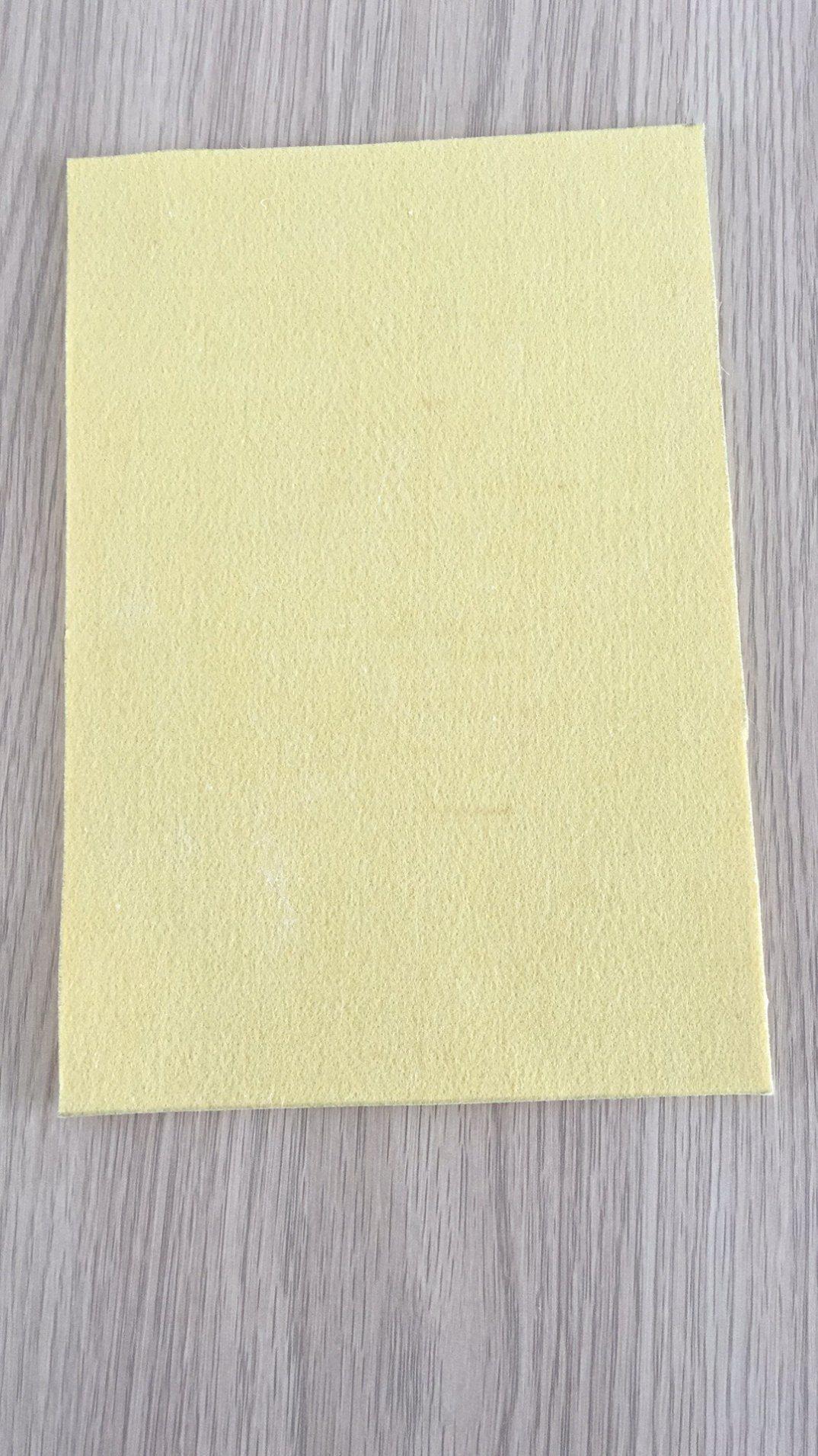 L'ago di P84 Nomex ha perforato il feltro per i tessuti del filtro da industria