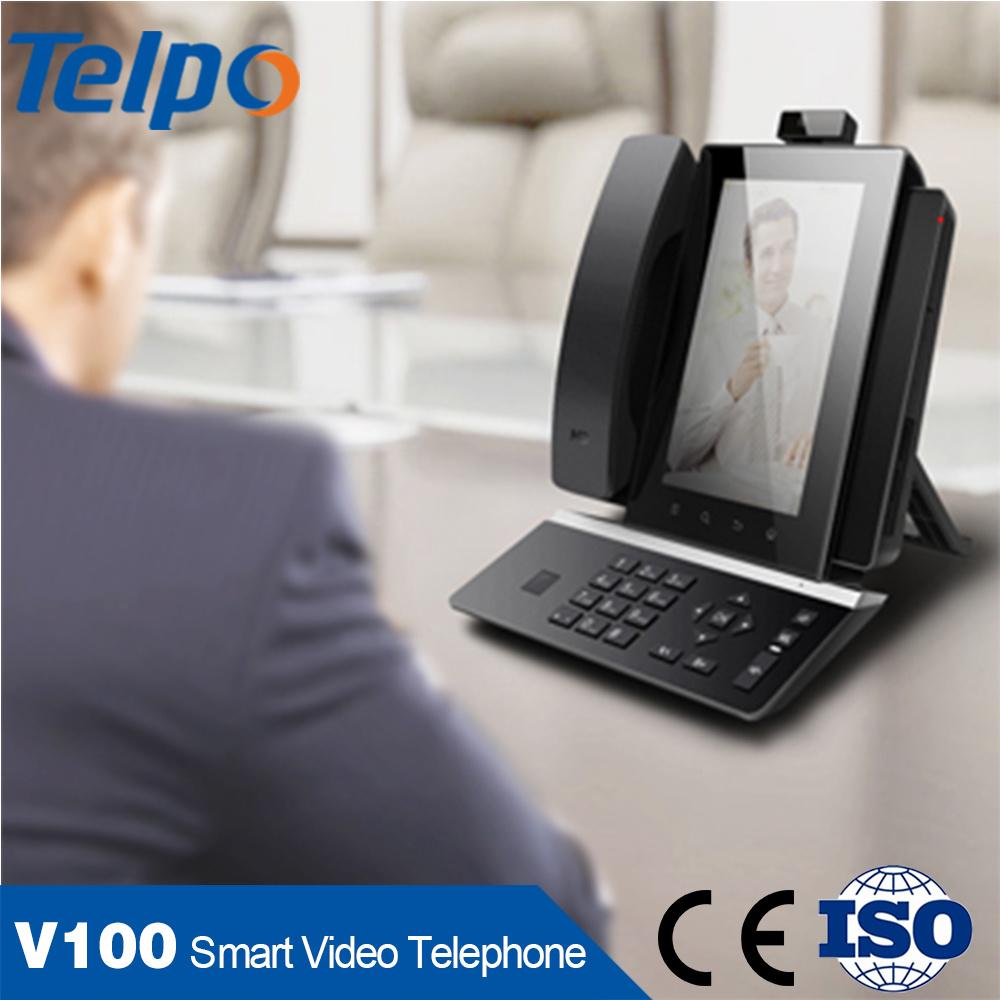 Venda a quente provedores de VoIP Business sistema Android Telefone Intercomunicador de Vídeo IP