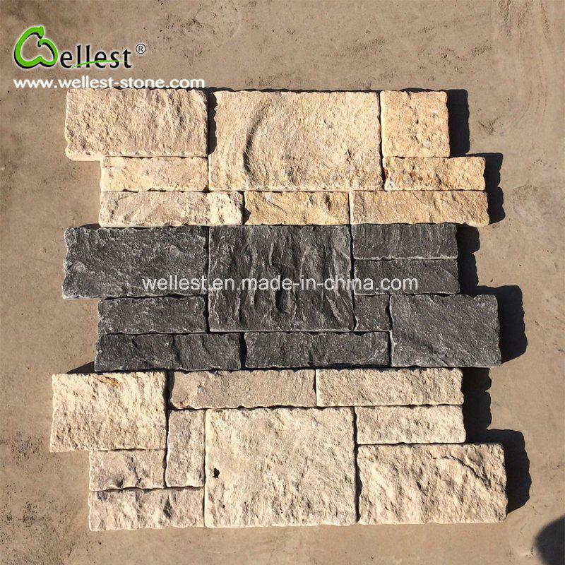 muro de piedra natural de la casa de piedra decorativa revestimiento de paredes panel piedra mejor - Paredes De Piedra Natural