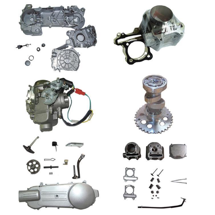 オートバイのエンジン部分