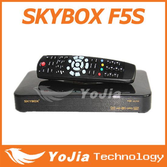 Skybox F5S 가득 차있는 HD 인공 위성 수신 장치