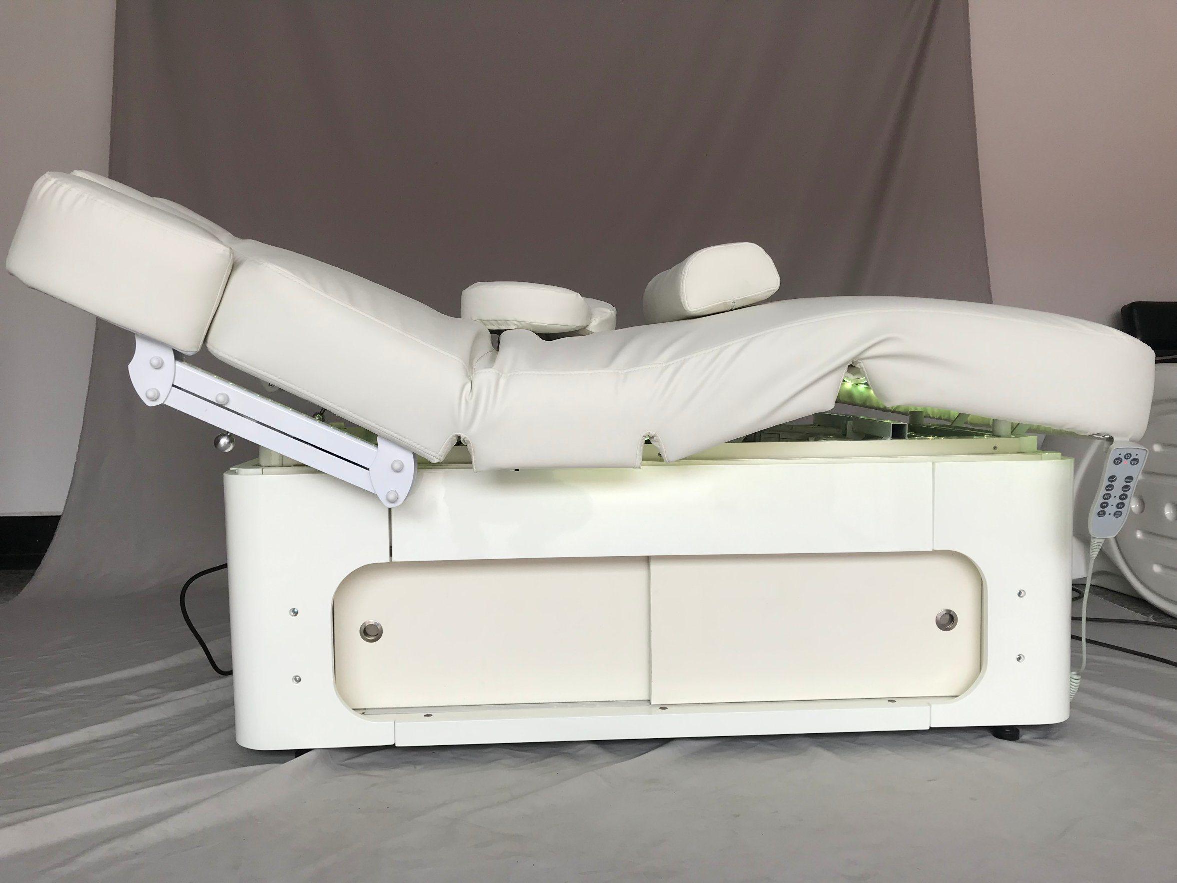 Hoogwaardige thermische massage bed comfortabele SPA Massage tafel met Grote opslagkast (20D02)