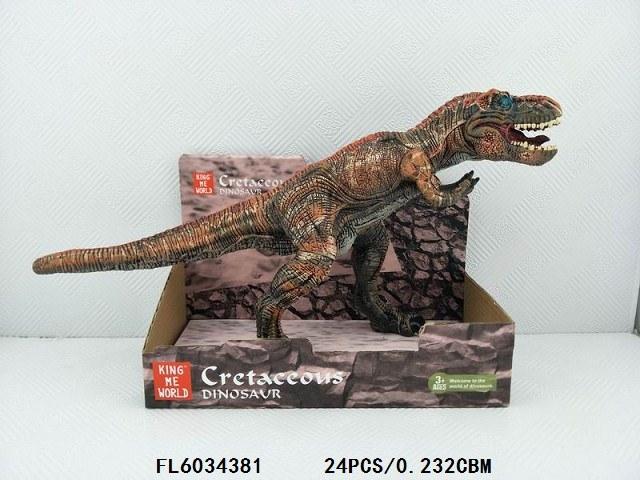 Plastikvinyltyrannosaurus-Modell-Kind-Spielwaren