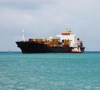 O transporte marítimo de contentores de Toulon