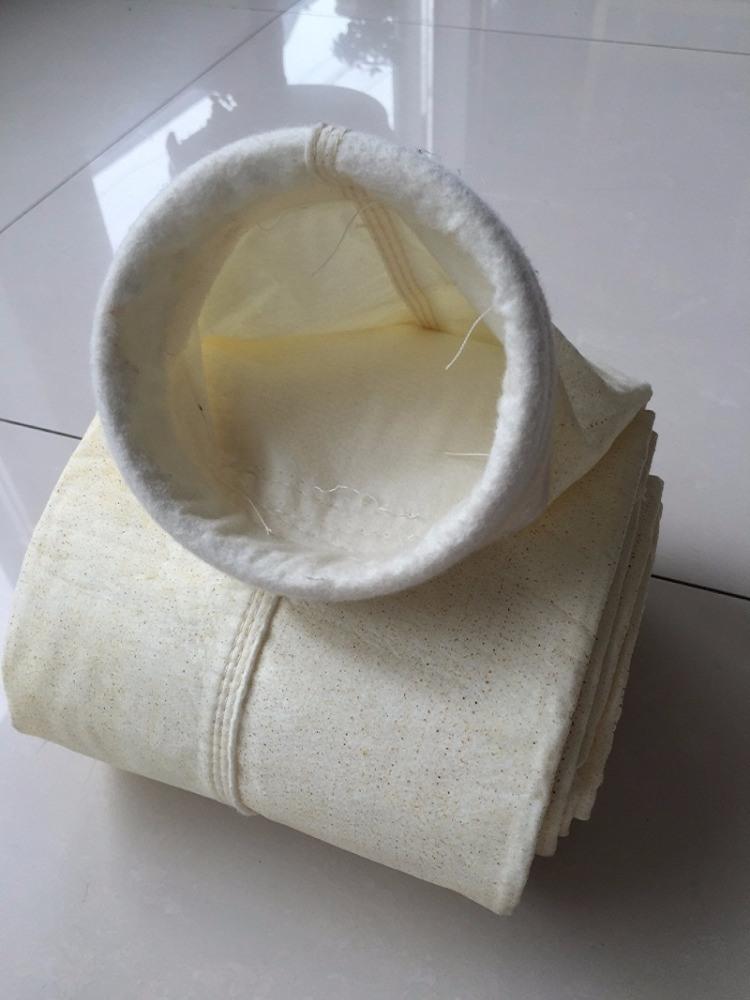 Il tessuto acrilico del sacchetto filtro del collettore di polveri