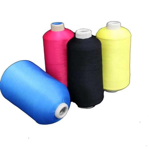 100% Polyester Texture DTY fils texturés de polyester de filetage