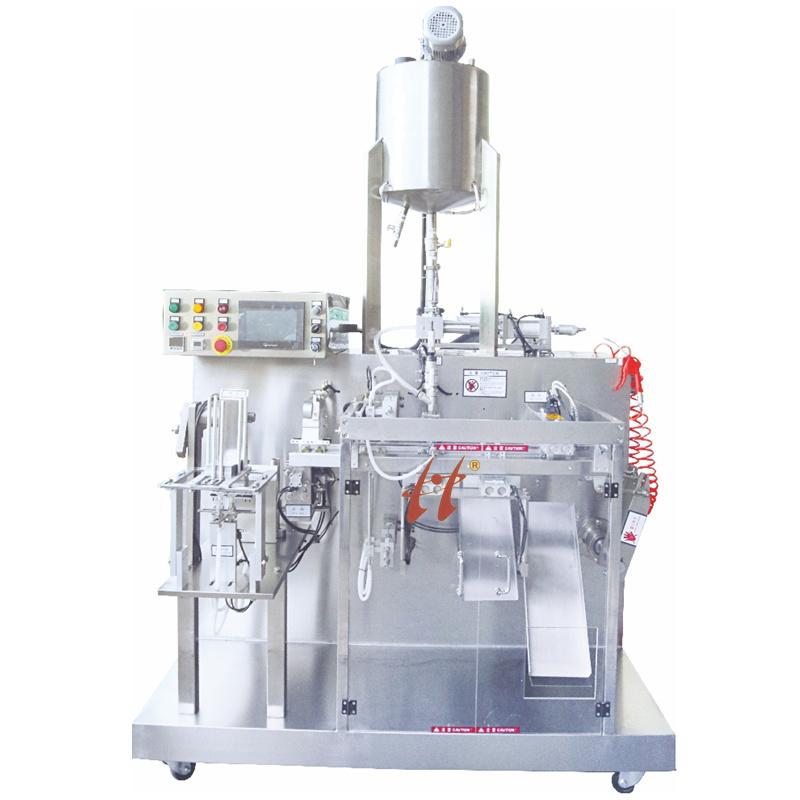 Automatische gezichtsmasker/melk/sap/Drink/water sachet Liquid Packing machine