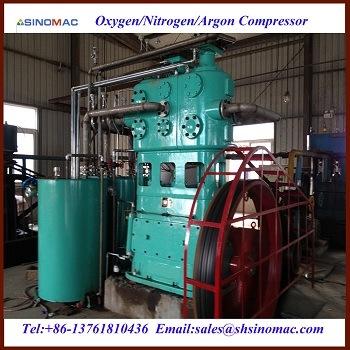 Het Vullen van de Gasfles van de Zuurstof/van de Stikstof van de hoge druk Compressor