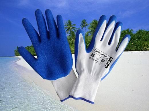 Latex-Handschuh