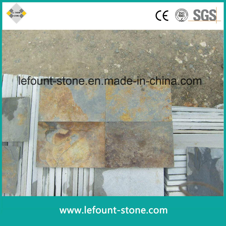 Dalle Ardoise 100 X 30 chine rusty ardoise naturelle pour les dalles de sol/paving