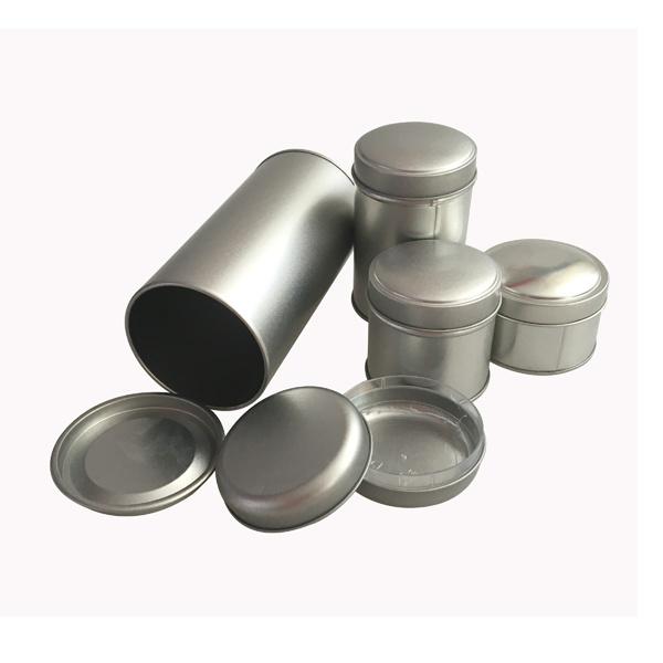 bougie de l 39 tain peut couvercle en plastique contenant de l 39 tain de forme ronde bougie de l. Black Bedroom Furniture Sets. Home Design Ideas