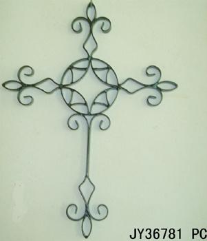 Croix de métal