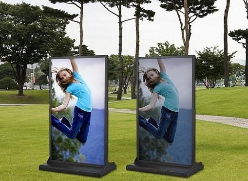 """42"""" монитор дисплея наружной рекламы киоск"""