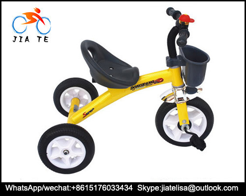 2016 Châssis en acier de la Chine de tricycle jouets Kids Baby Tricycles, Tricycle de bébé
