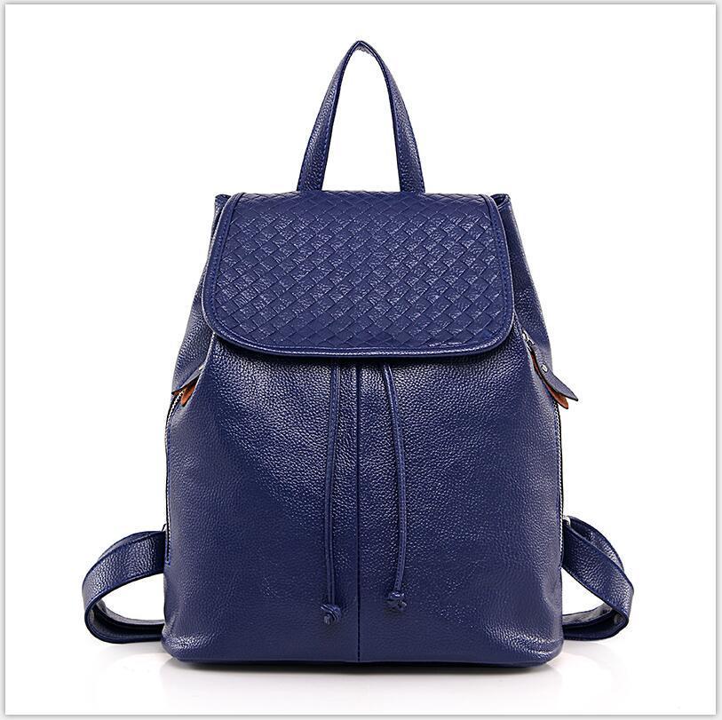 Senhoras bolsas de couro Cores Personalizadas e etiqueta da marca são aceites novos sacos de mochila às mulheres da moda