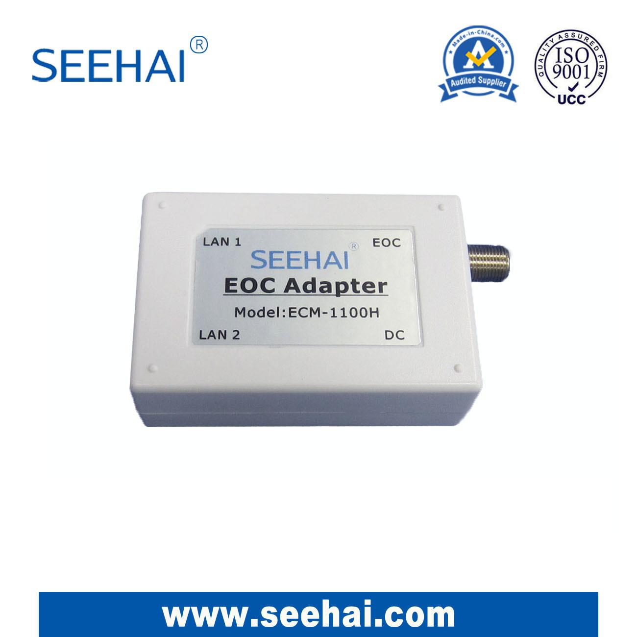 Ethernet-Over-adaptateur coaxial EOC