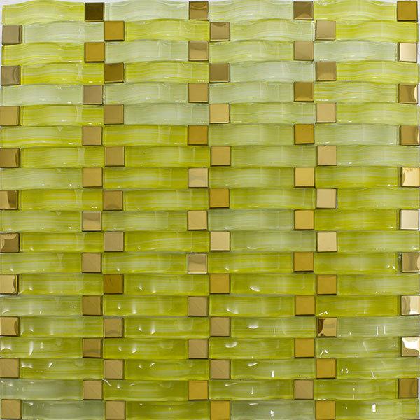 Горячая продажа покрытие поверхности и Crystal Reports стеклянной мозаики плитки производителя