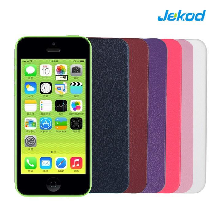 Caso Telefone de couro para iPhone 5c