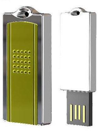 호화로운 아연 합금 USB 섬광 드라이브 (EU-02A)