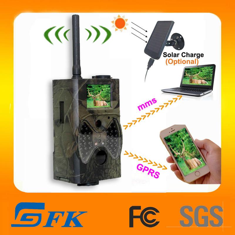 Mantenha a proteção à prova de caça de veados Digital GPRS Câmera Scout (HT-00A1)