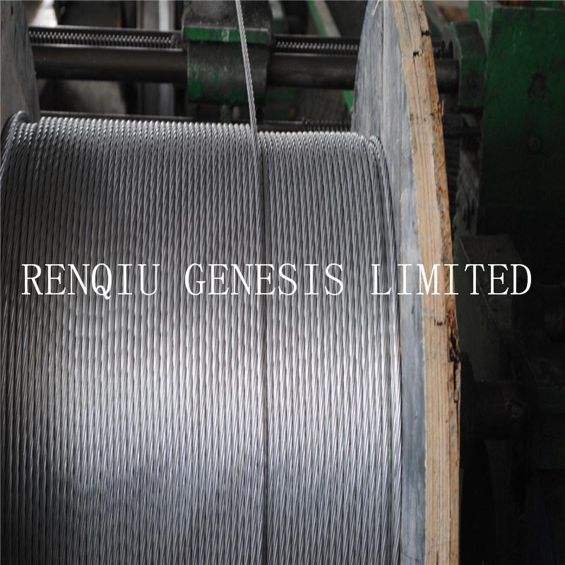 Mejor calidad de alta tensión de alambre de acero galvanizado en caliente Strand