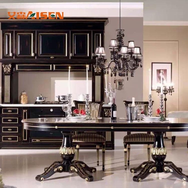 Disegni di legno dell\'armadio da cucina di memoria di alta qualità per le  piccole cucine