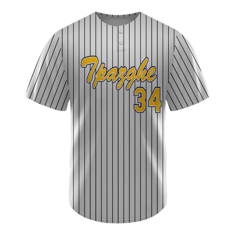 2018 New Design Top은 야구 저지 맞춤형 시준(Baseball Jersey Custom Sublimation)을 판매합니다