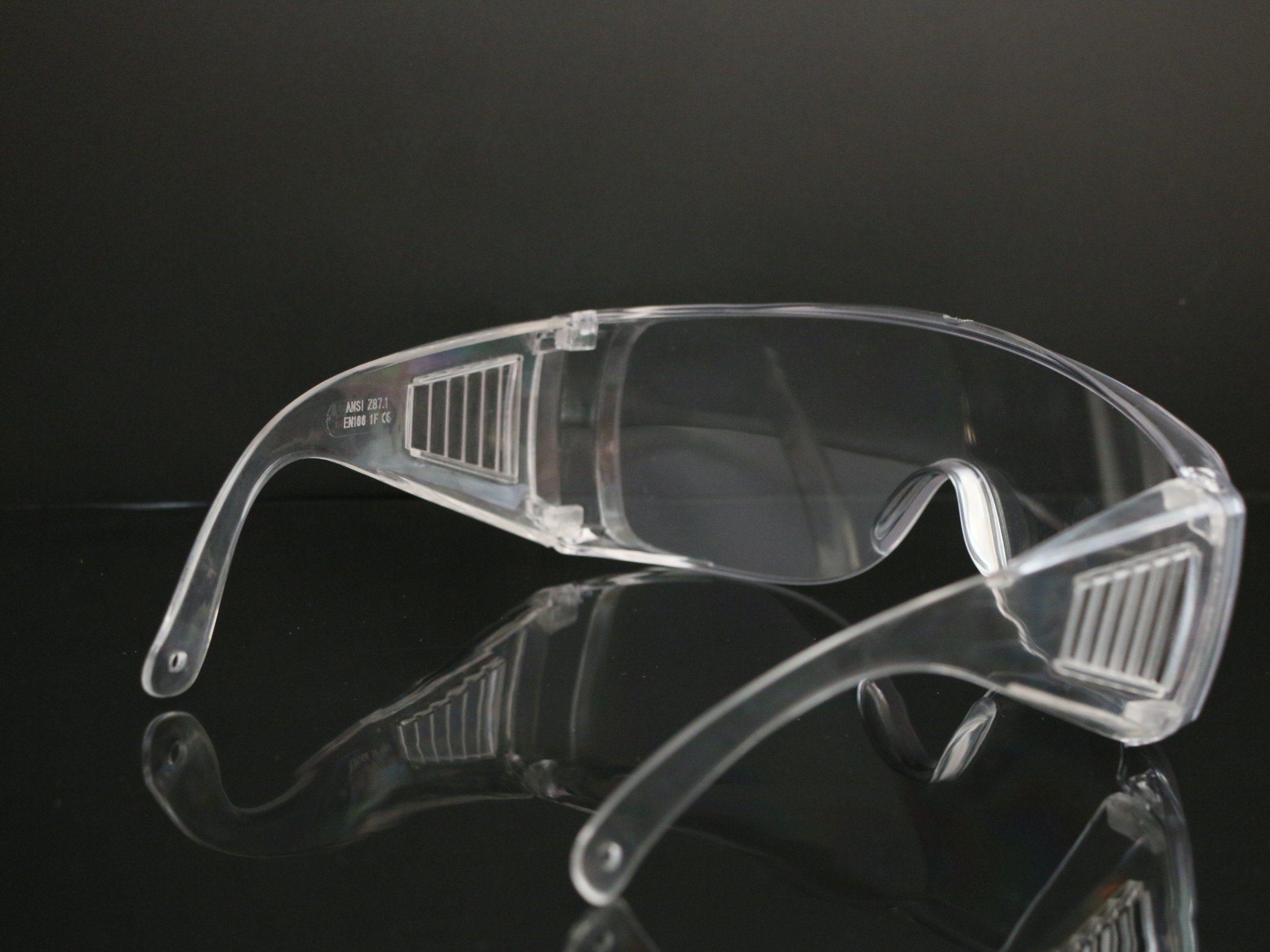 Pc-beschermende stofwerende veiligheidsbril met heldere lenzen Veiligheid Bril