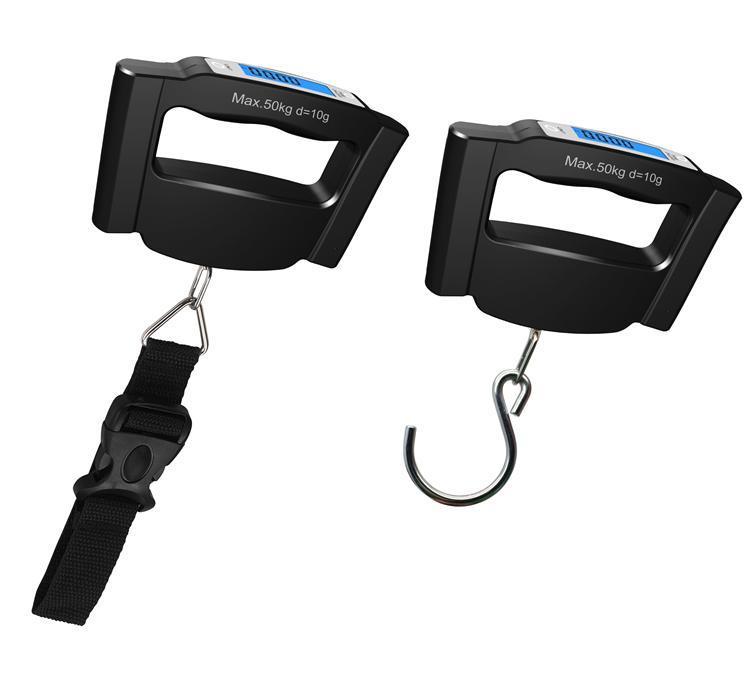 [50كغ] زرقاء [لكد] [بورتبل] [ديجتل] حقيبة مقياس مع حزام سير أو كلاب