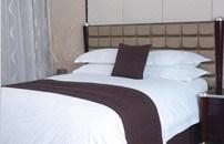 ホテルの寝具セット