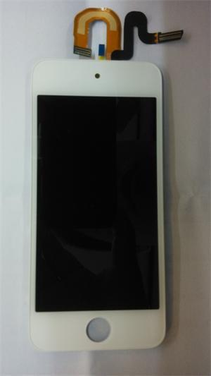iPodの接触5のための取り替えLCDの表示のタッチ画面の計数化装置