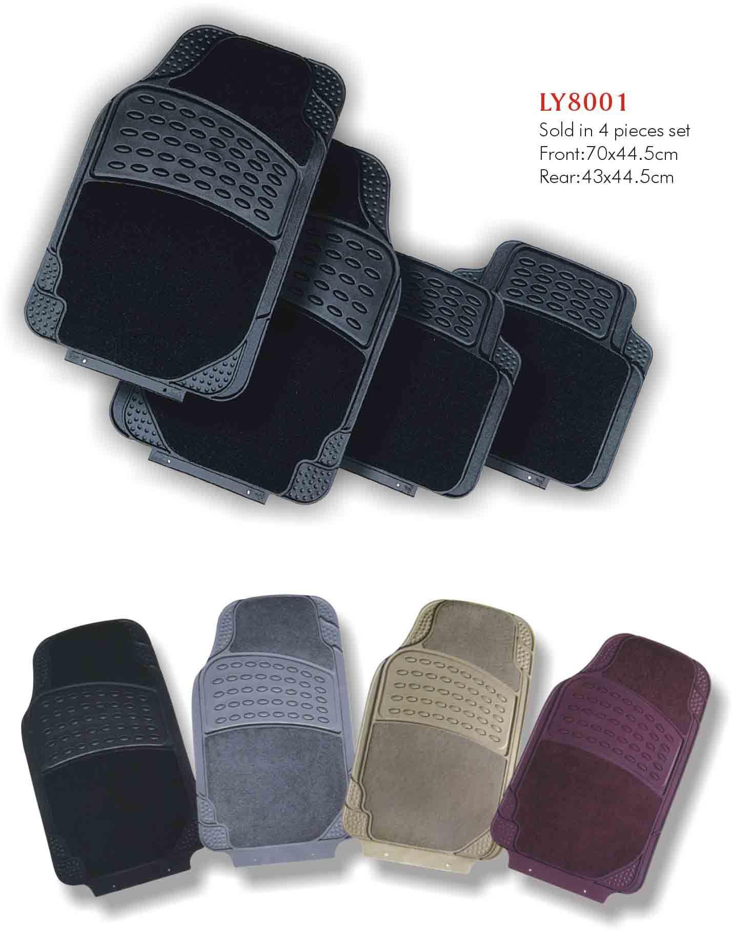 Tapete de carro de PVC (LY8001)