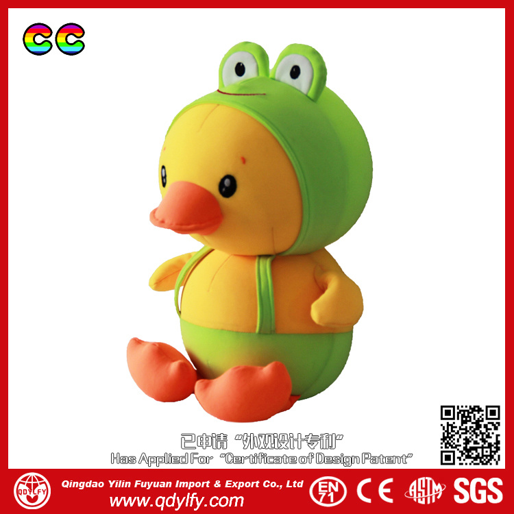 Children (YL-1505001)를 위한 수동 Nylon Fabric Duck Toys