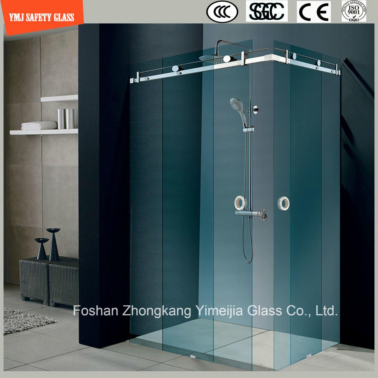 El bastidor de acero inoxidable ajustable 6-12 corrediza de vidrio ...
