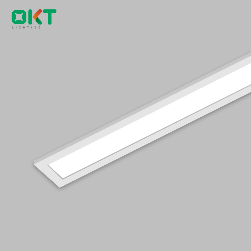 表面によって取付けられる細いLEDの線形天井灯