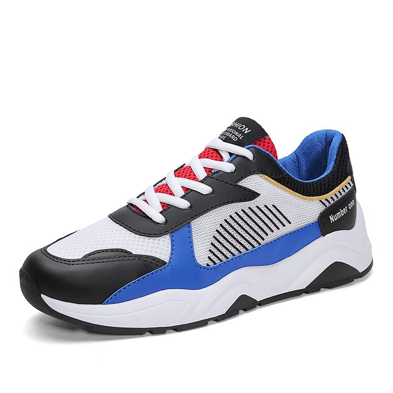 2019 Sprung und Sommer-Schuh-Farben-abgleichende Funktionseigenschaft-laufende Schuhe der neuen Tendenz-beiläufige Schuh-grenzüberschreitend wilden hellen Männer