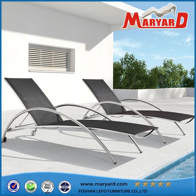 Foto de Patio al aire libre muebles de acero inoxidable plegable ...