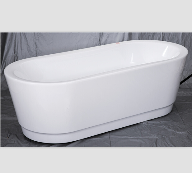 Vasca da bagno portatile indipendente del basamento di Acryl foto su ...