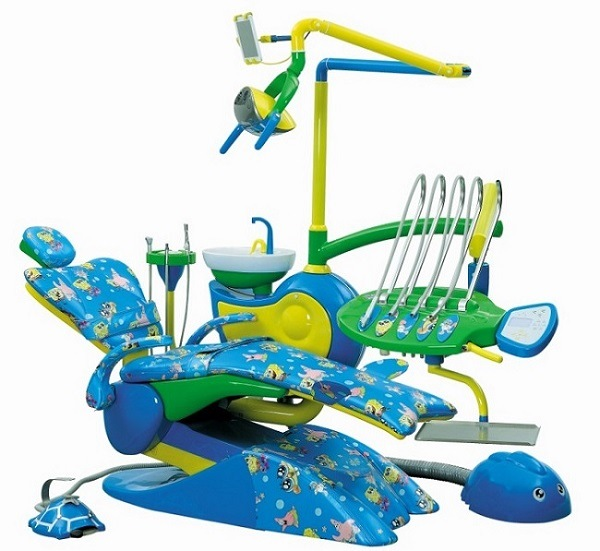 2014 heißes Sale/Imported Leather mit Memory Foam/Special Design für Children Dental Chair