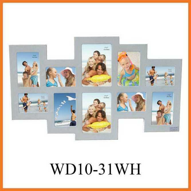 10-la apertura de pared de madera blanca Marcos de fotos, la ...